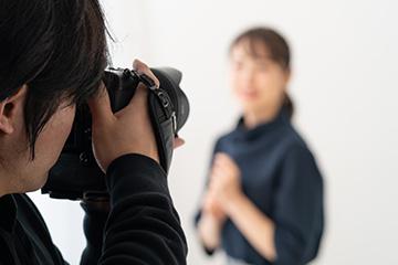 人物イメージ撮影