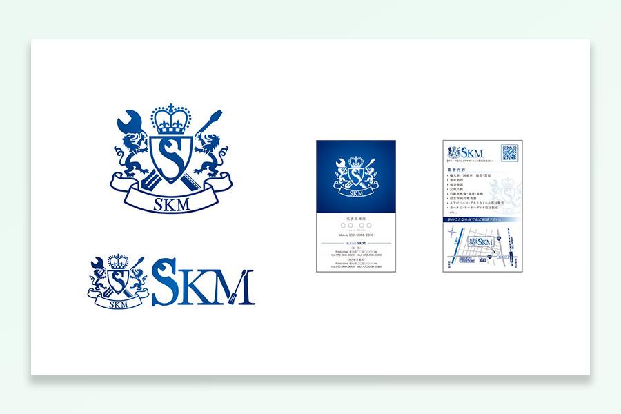 SKM様名刺ロゴ画像