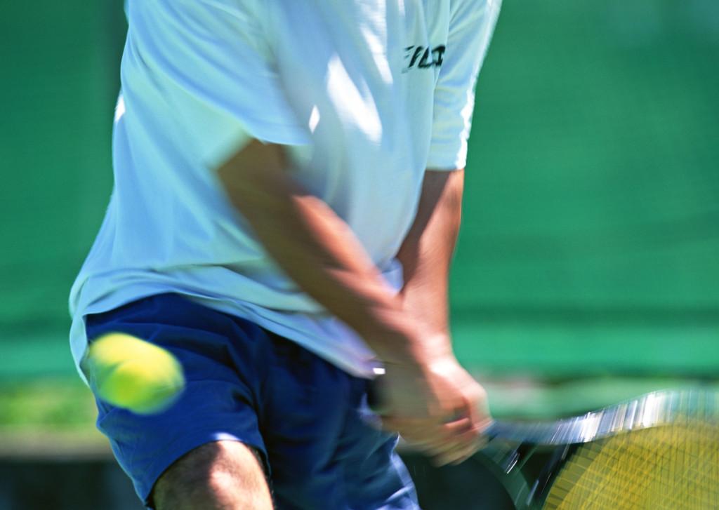 テニスは健康につながります