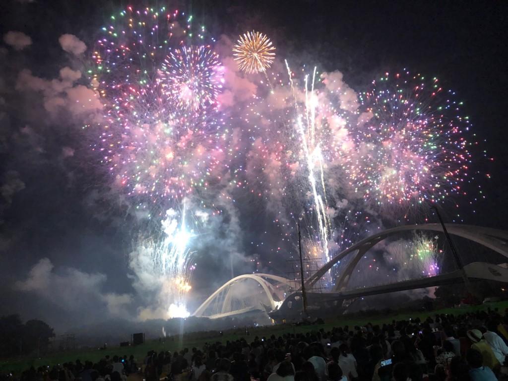 豊田おいでん祭りの花火大会